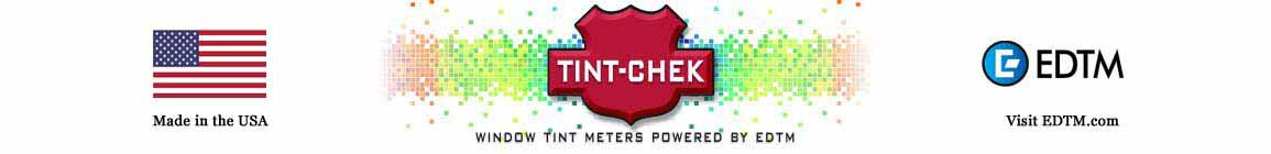Tint-Chek Window Tint Meter Header